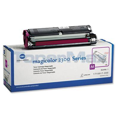 QMS MAGICOLOR 2300 TONER MAGENTA 1.5K